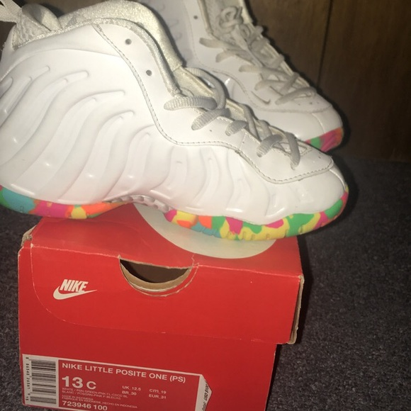 reputable site b0a95 68f0f ... coupon code for fruity pebbles nike little foam posite one bc818 aa5b1